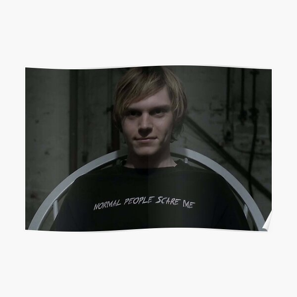 Evan Peters Posters | Redbubble