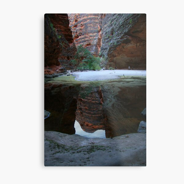 Cathedral Pool Metal Print