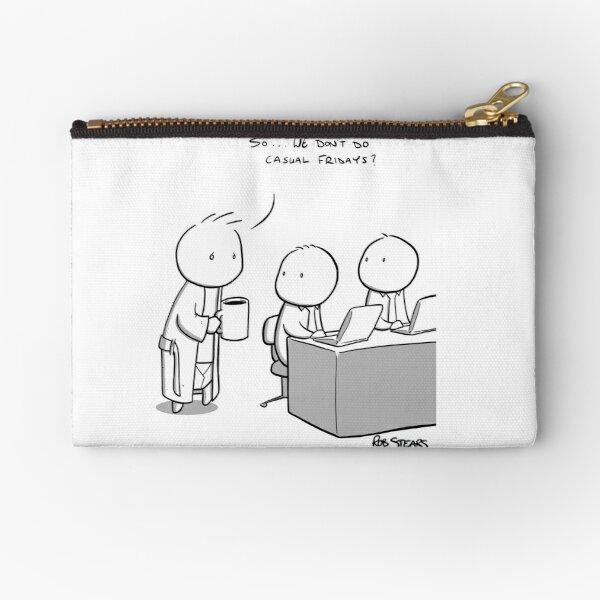 Casual Friday Zipper Pouch