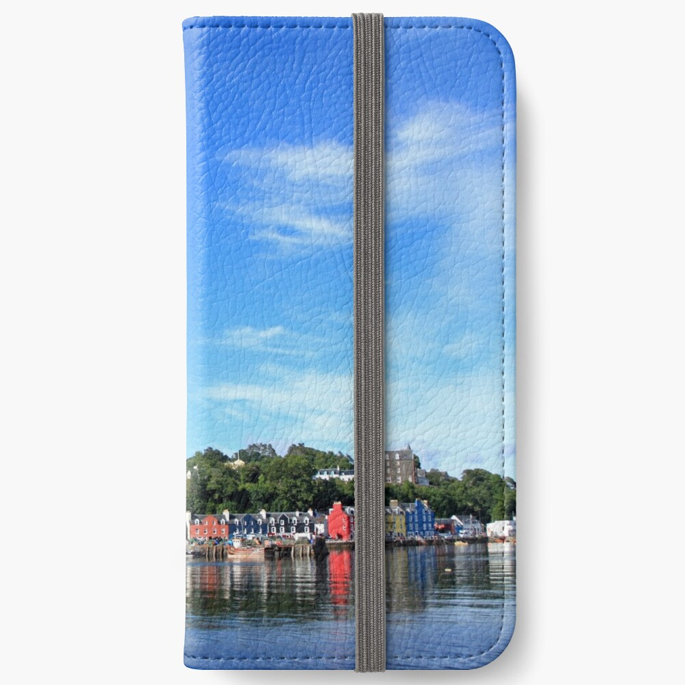 Blue Sky in Balamory iPhone Wallet