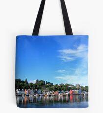 Blue Sky in Balamory Tote Bag