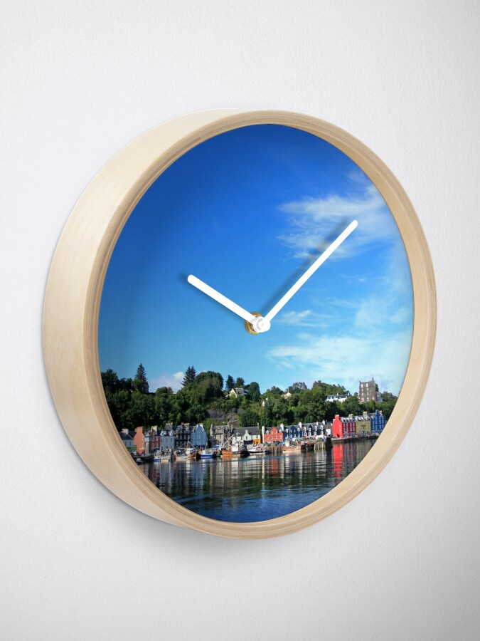 Alternate view of Blue Sky in Balamory Clock