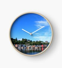 Blue Sky in Balamory Clock