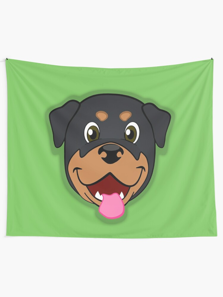 Rottweiler Note Cards ~ The Guardian