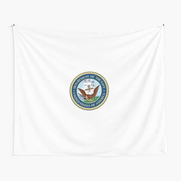 Seal of the United States Department of Navy  Tapestry