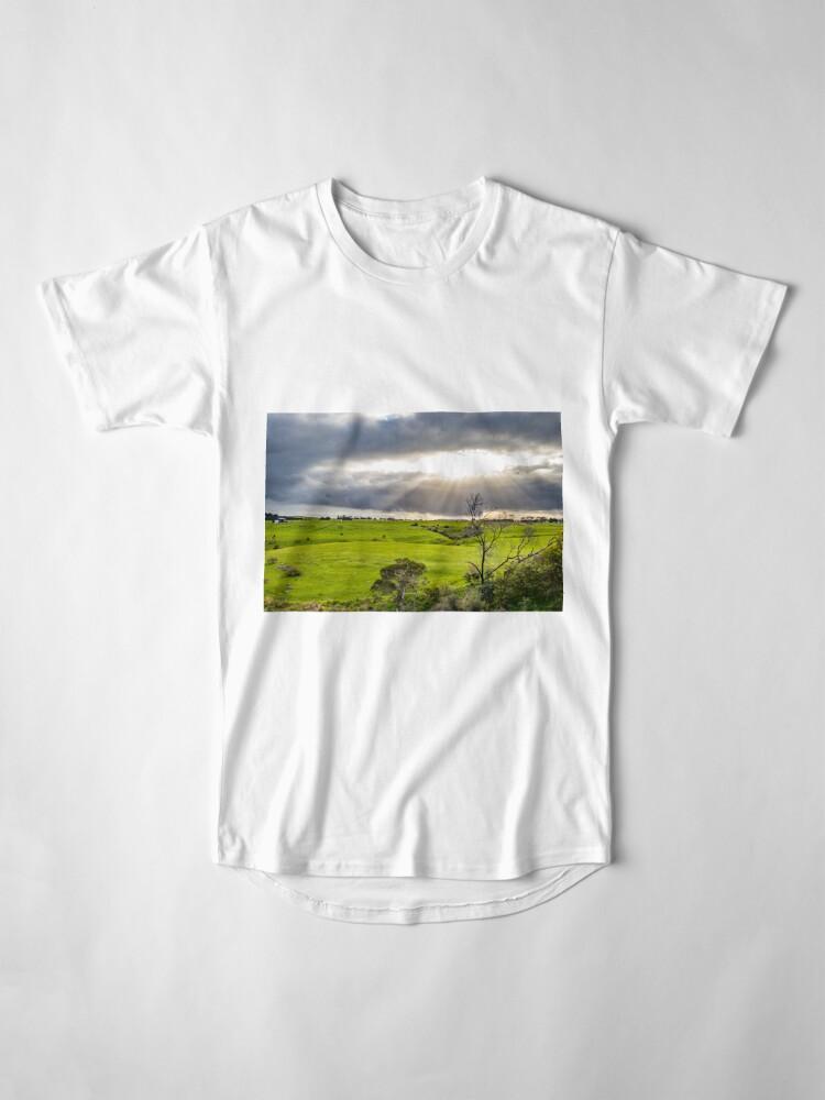Alternate view of Shining at greens Long T-Shirt
