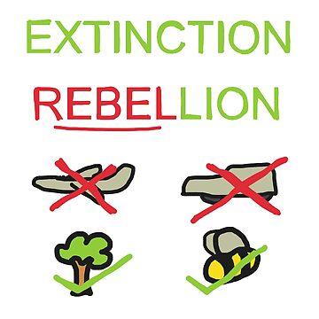Extinction Rebellion by Mark-Ewbie