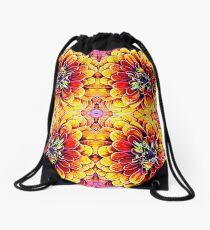 Dahlia Dreaming Drawstring Bag