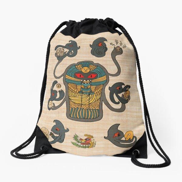 Cofagrigus & Yamask Drawstring Bag