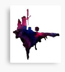 Gorillaz Windmill Island Canvas Print