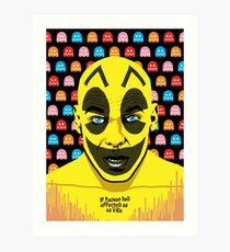 The Yellow Gamer Art Print