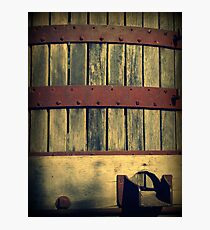 Antique Wine Press Photographic Print
