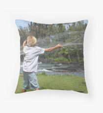 Broxcen Thrownet Throw Pillow