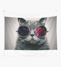 classy cat Wall Tapestry