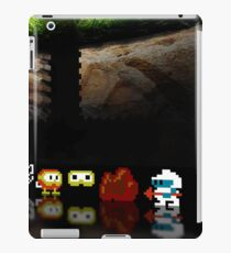 Dig Dug pixel art iPad Case/Skin