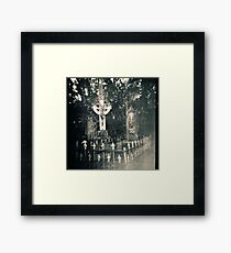 Graves Framed Print
