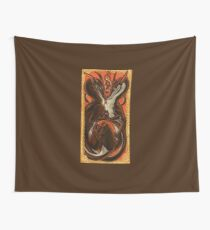 Dance Of The Devils Wall Tapestry