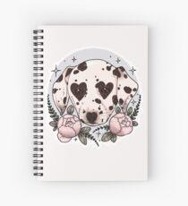 dalmatian dog Spiral Notebook