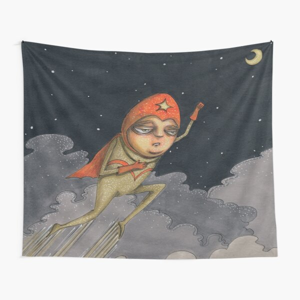 Captain Enthusiasm Tapestry