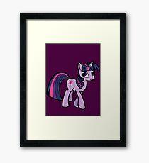 twilight sparkle Framed Print