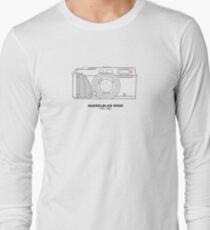 Vintage-Filmfotografie: Hasselblad XPan (T-Shirt, Aufkleber, Becher) Langarmshirt