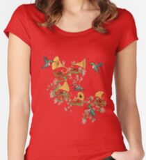 Phono & Fauna Women's Fitted Scoop T-Shirt