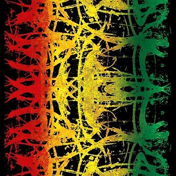 mystisch reggae  - Dein neues Reggae Shirt, der Festivalsommer kann kommen! von Periartwork