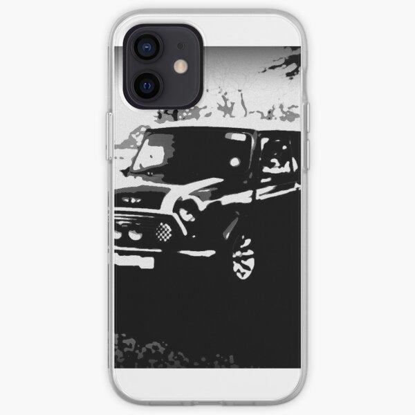 Pack sport mini cooper noir et blanc Coque souple iPhone