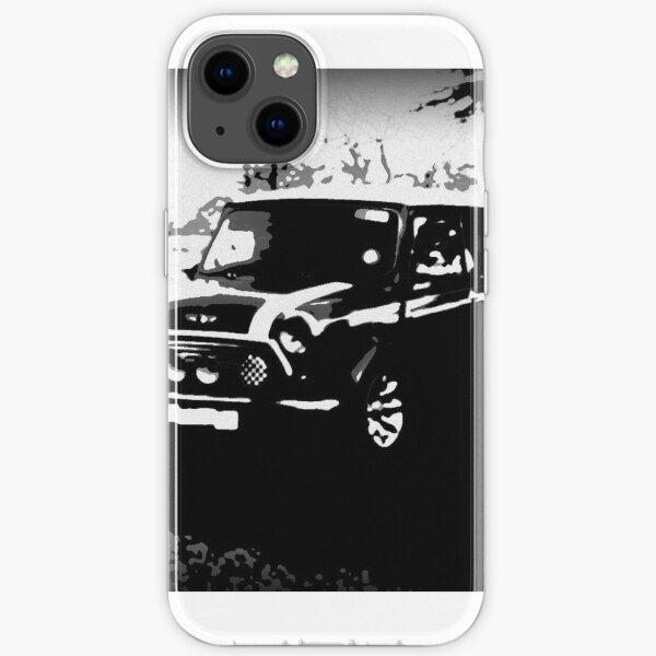 Mini Cooper Sportrucksack schwarz und weiß iPhone Flexible Hülle