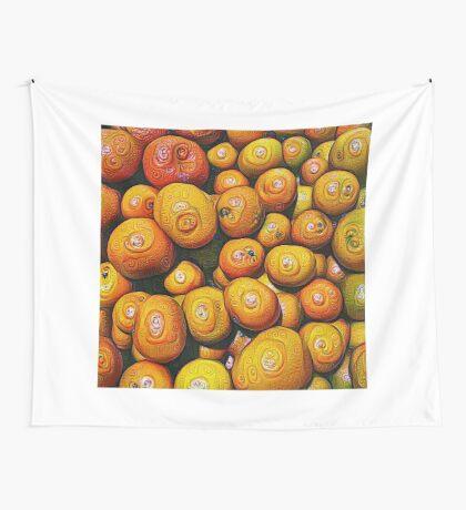#DeepDream Fruits 5x5K v1454417933 Wall Tapestry