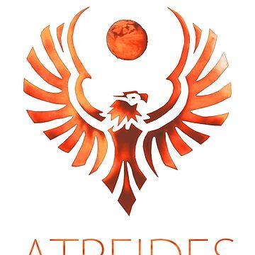 Atreides of Dune - Bronze by mazoweb