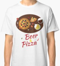 9th October - Beer and Pizza Day Classic T-Shirt