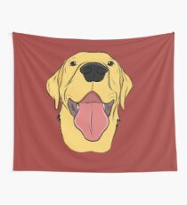 Tela decorativa Happy Yellow Lab