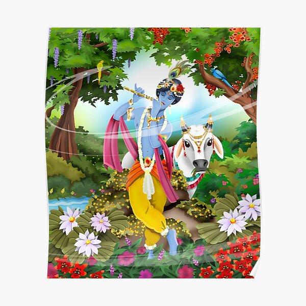 Krishna / Shivas World Poster