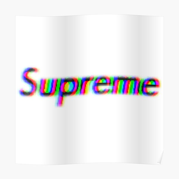 Glitched logo HD Poster