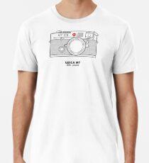 Vintage Filmfotografie: Leica M7 (T-Shirt, Aufkleber, Tasse) Männer Premium T-Shirts