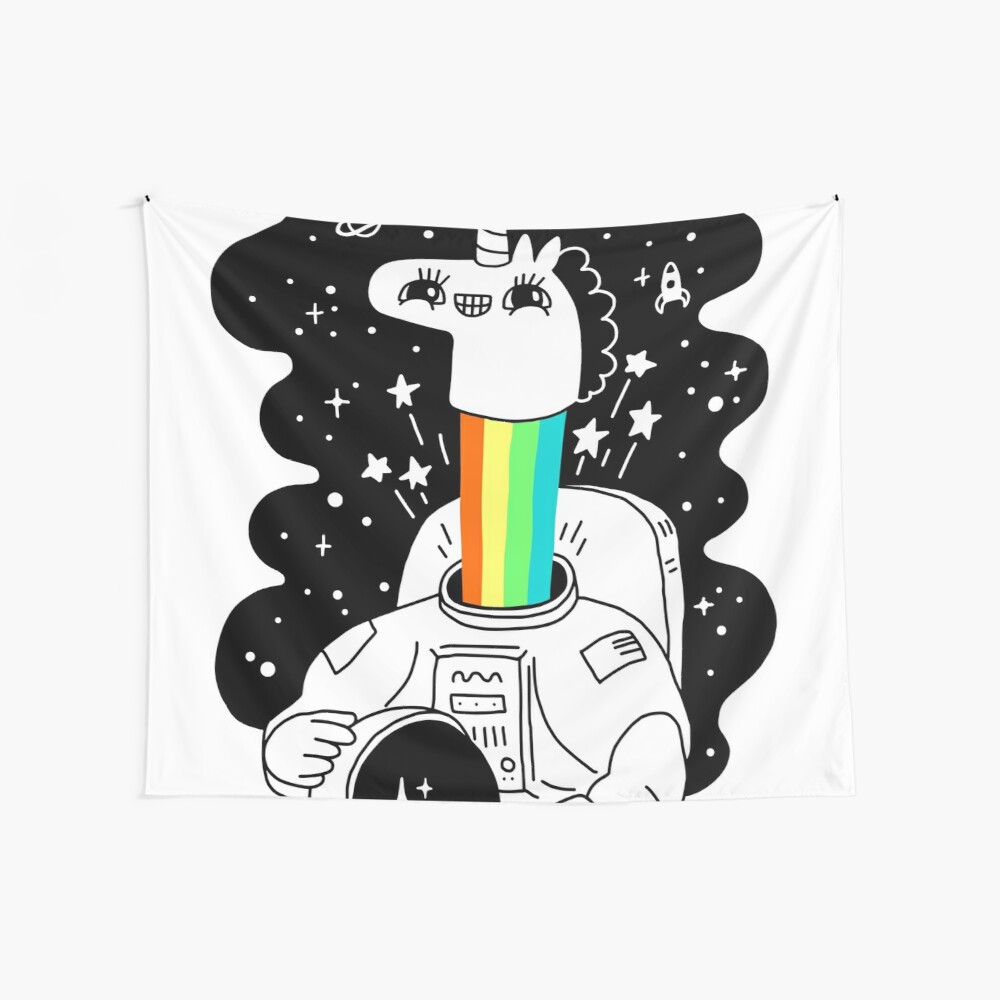 See You In Space! Wall Tapestry
