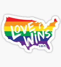 Love Wins Commemorative Art Sticker