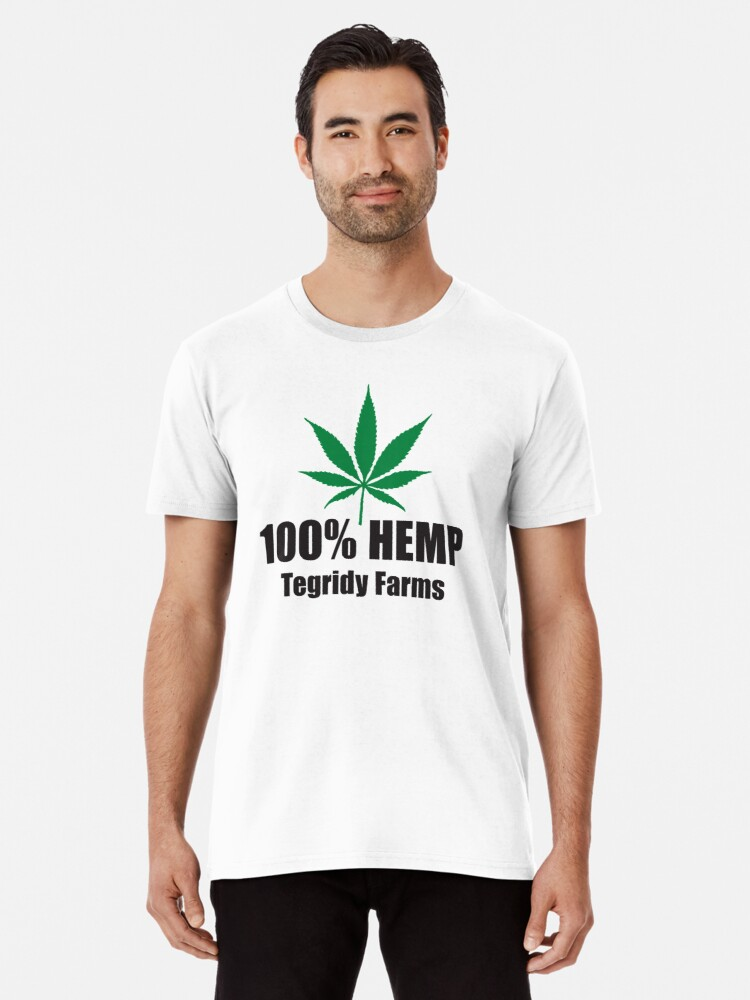 51cd692c 100% Hemp Tegridy Farms - South Park, Stan's T-shirt with