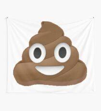 Smiley Poop Emoji Wall Tapestries Redbubble