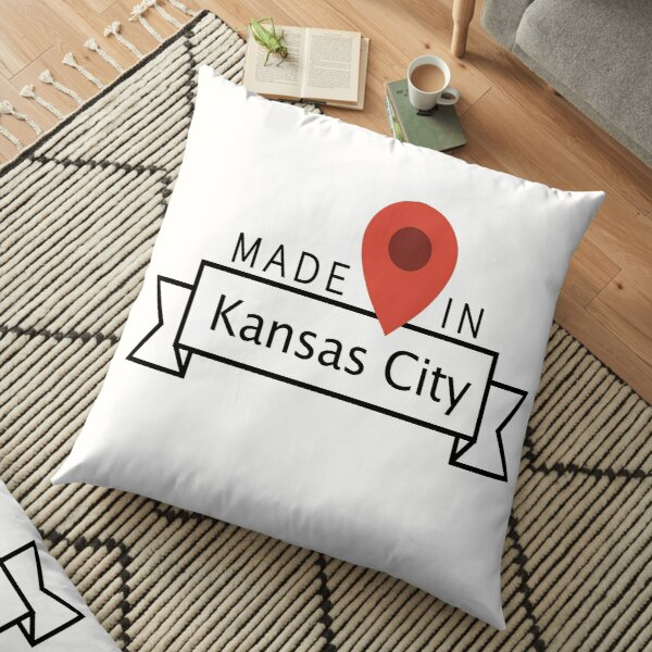 Kansas City Floor Pillow