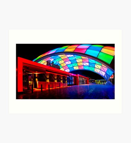 Adelaide Entertainment Centre 2 Art Print