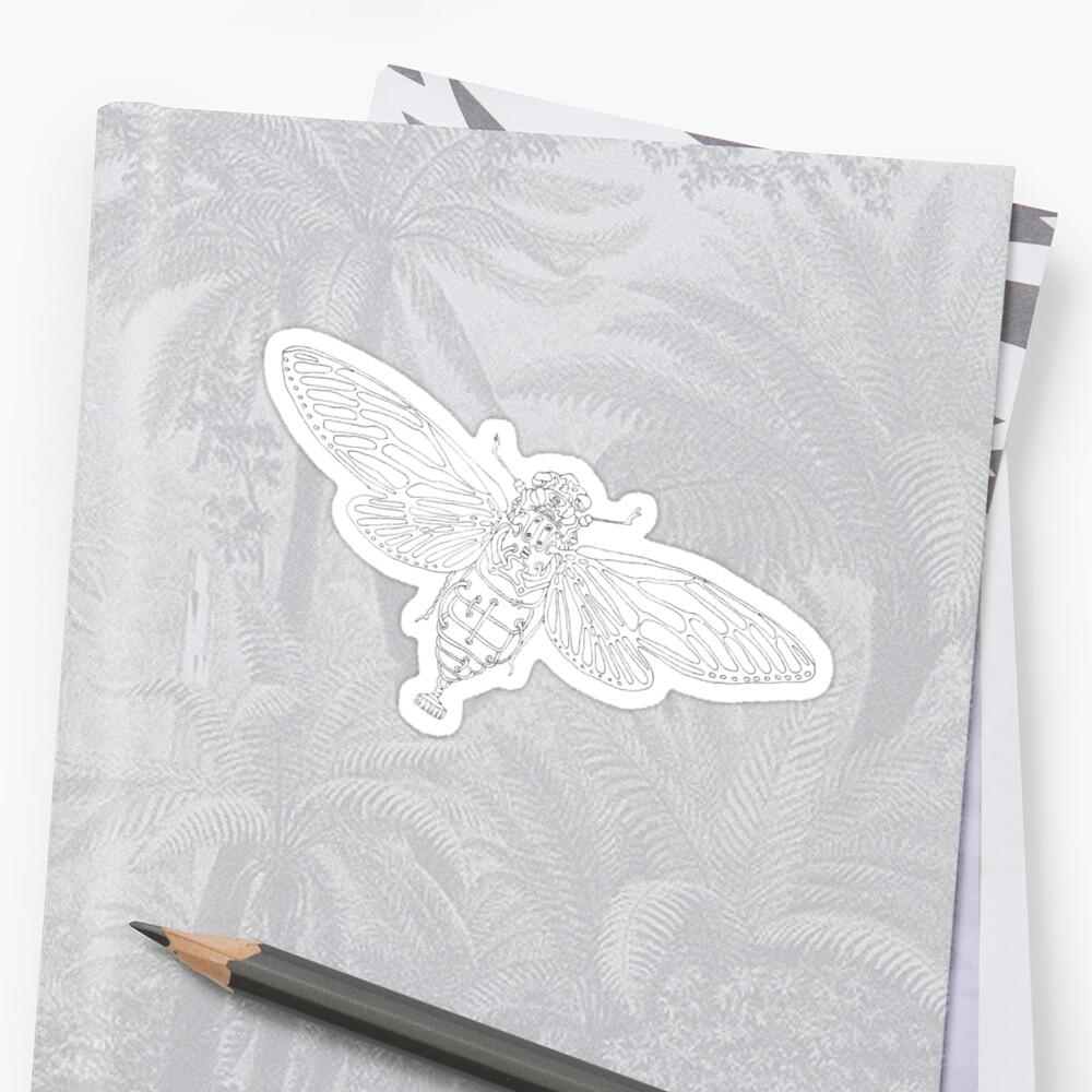 Steampunk Entomology Mecha-bee by mewmew