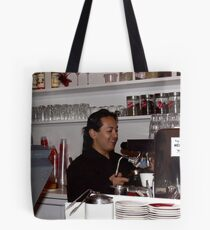 Happy Barrista Tote Bag