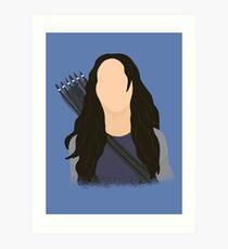 Vector Katniss Art Print