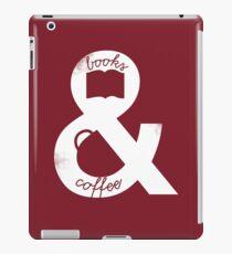 Books and Coffee iPad Case/Skin