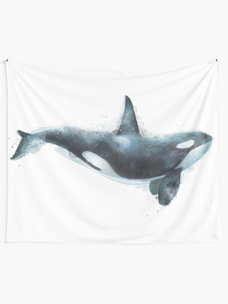 Alternate view of Orca Tapestry