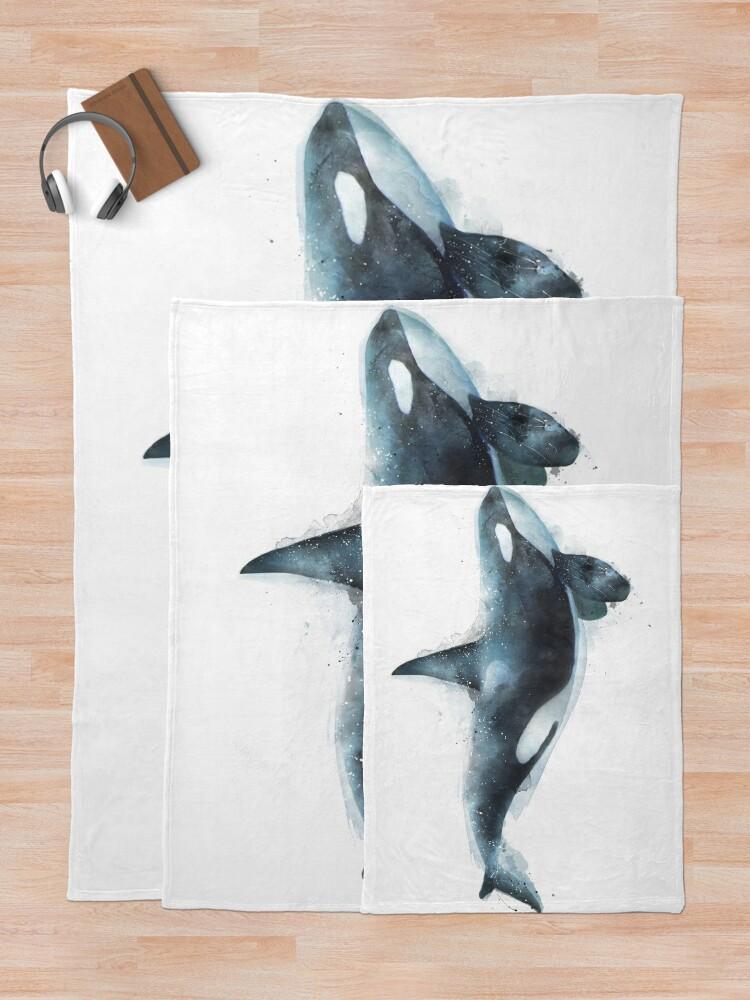 Alternate view of Orca Throw Blanket