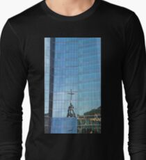 Streetscape Reflections (3), Rio de Janeiro, Brazil.  T-Shirt