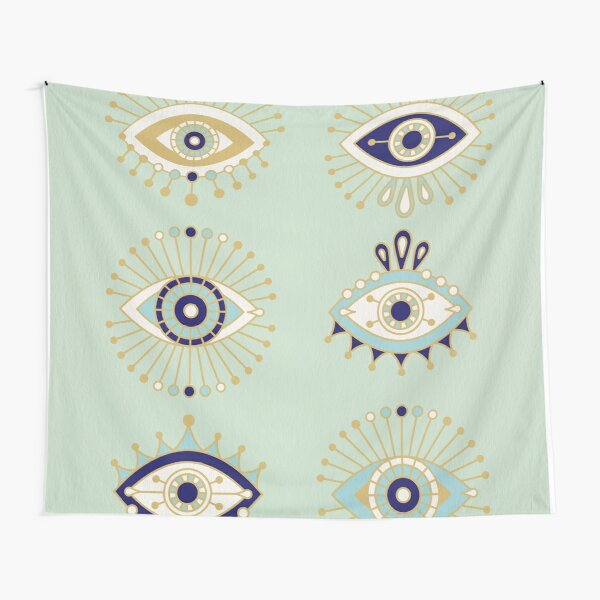 Evil Eye Collection Tapestry